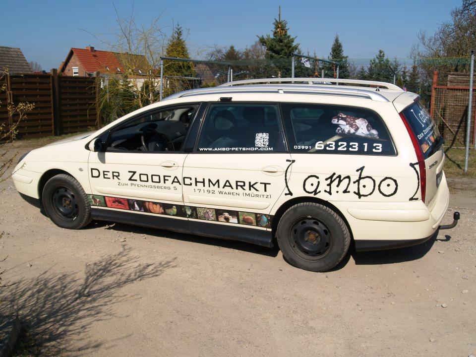 Unser Auto.
